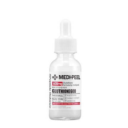 Осветляющая ампульная эссенция Medi-Peel Bio-Intense Glutathione 600 White Ampoule 30ml., фото 2