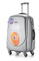 Ударопрочный малый чемодан Ambassador Classic A8503 Серый