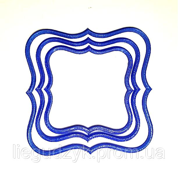 Печиво пісочно-ванільне для брендування  та декорування  [квадратно-фігурне]