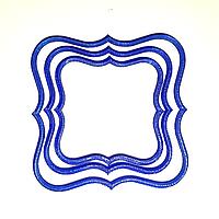 Печиво пісочно-ванільне для брендування  та декорування  [квадратно-фігурне], фото 1