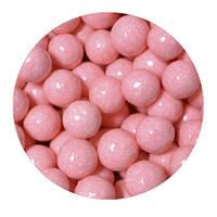 "Посыпка ""Глянцевые шарики (розовые) 10 мм."", 50 гр."