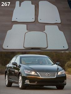 Коврики на Lexus ES 350 2006-2012. Автоковрики EVA