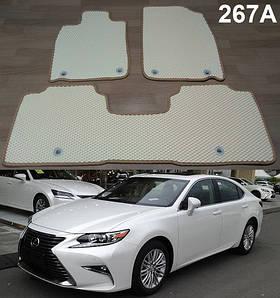 Коврики на Lexus ES 300H Hybrid 2012-2018. Автоковрики EVA