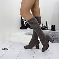 Жіночі демісезонні чоботи панчохи