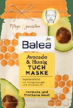 Тканинна відновлююча  маска Balea Tuchmaske Avocado & Honig
