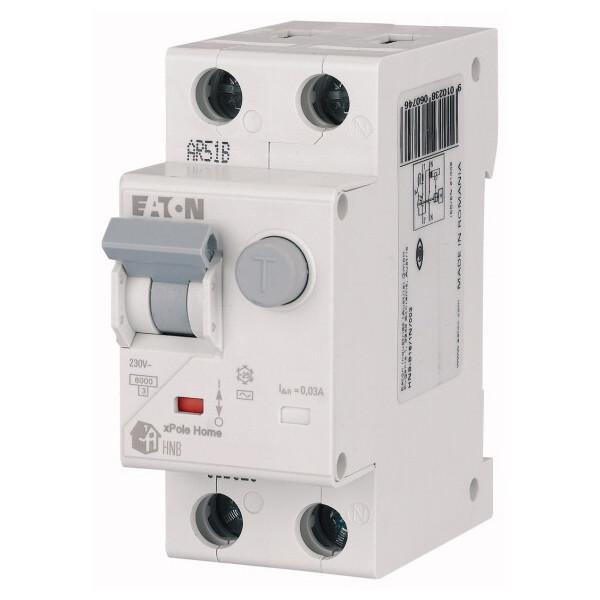 Дифференциальный автоматический выключатель Eaton HNB-C16/1N 30 мА 4,5 кА