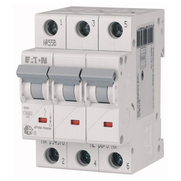 Автоматический выключатель Eaton HL-C10/3 4,5 кА
