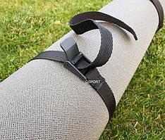 Компрессионный ремень стяжка для каремата, коврика для йоги и фитнеса OSPORT (fl-0029)