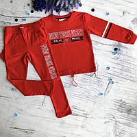 Красный костюм на девочку Breeze 1-14. Размер 116 (6 лет), 128 (8 лет), 152 (12 лет)см, фото 1