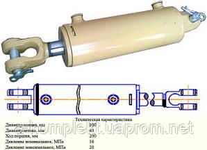 Гидроцилиндр ЦС-100 (ГЦ-100.40.200.0.00.22)