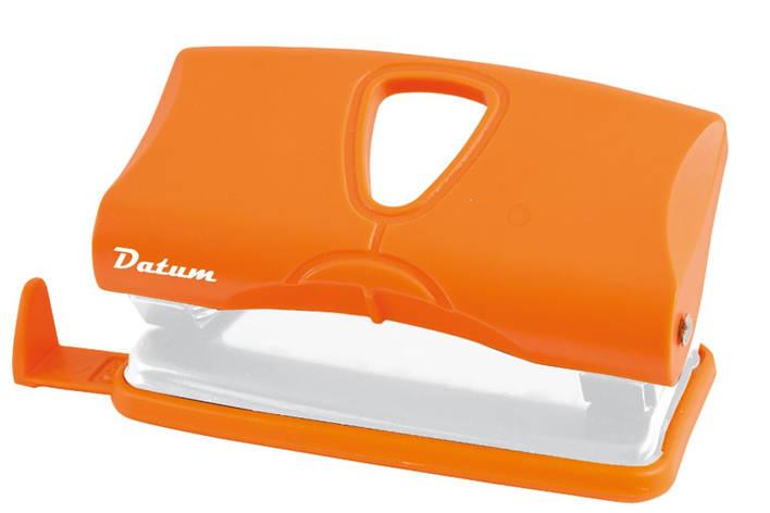 Дырокол 10л пласт. D1217-11 оранжевый                                                     , фото 2