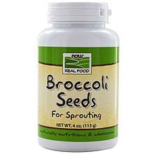 "Семена брокколи NOW Foods, Real Food ""Broccoli Seeds"" (113 г)"