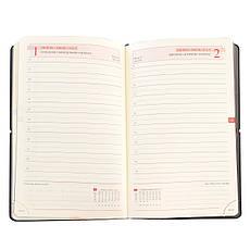 """Щоденник 120*200 дат. """"Gusto"""", 384 стор., графіт                                          , фото 3"""