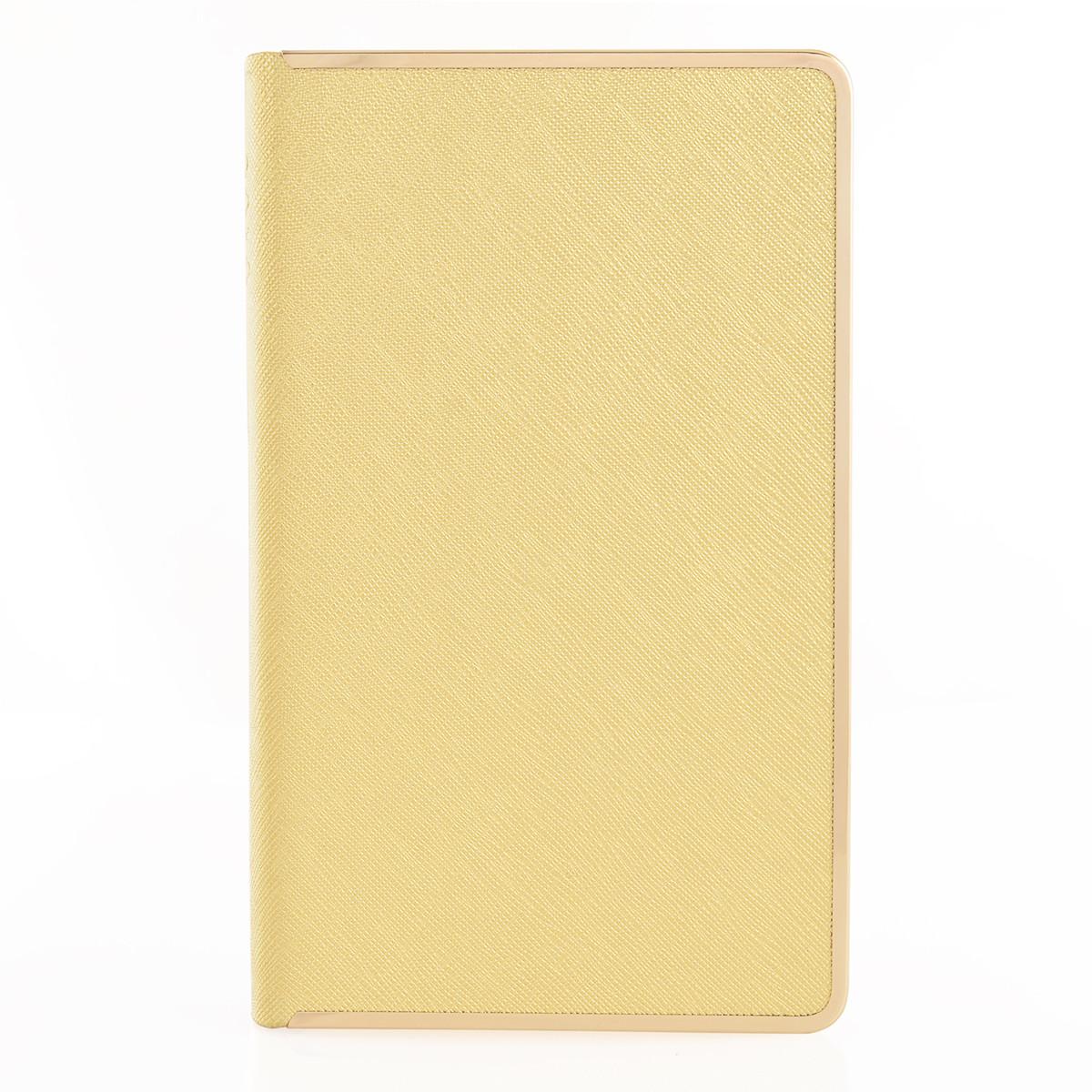 """Щоденник 120*200 дат. """"Eclisse"""", 384 стор., золото"""