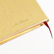 """Щоденник 120*200 дат. """"Eclisse"""", 384 стор., золото                                        , фото 2"""