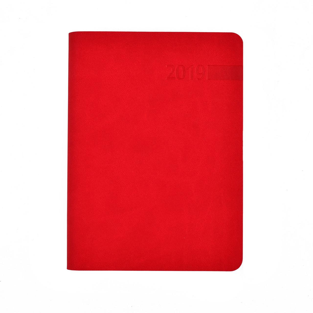 "Щоденник А6 дат. ""Damaris"", 320 стор., червоний"