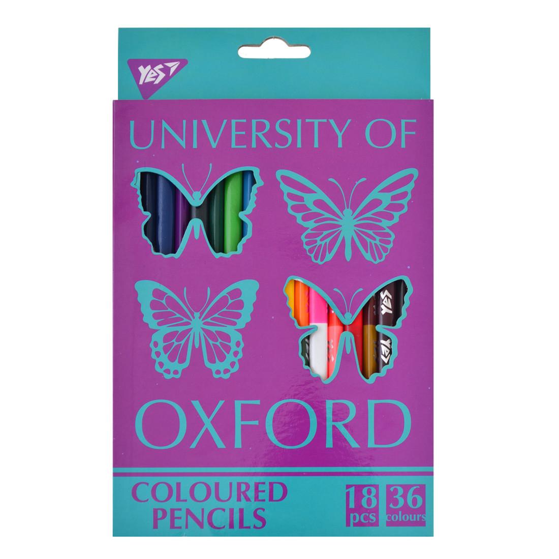 """Карандаши 18/36 цв. """"Oxford Butterflies"""""""