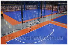 Модульне спортивне покриття Indoor Bounceback, фото 2