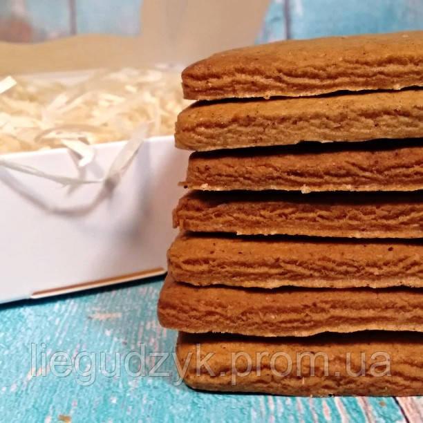 Печиво імбирне для брендування  та декорування  [прямокутне з гладким краєм]