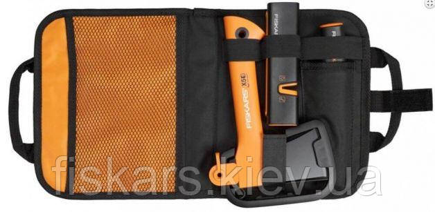 Туристический набор Fiskars (топор Х5 121123 + нож + точилка в сумке) 1025441