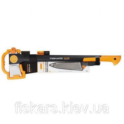 Набор Fiskars Splitting Axe L X21 + Нож Fiskars FunctionalForm 20 cm 1023883