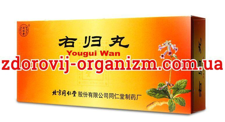 Ю Гуй Вань (You Gui Wan)Восстанавливающая Правую Почку Пилюли