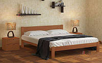Деревянная кровать Каролина из ольхи (все размеры)