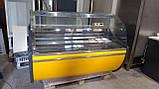 Витрина холодильная Технохолод ПВХС 1,30 м.1,6 м.бу., фото 3