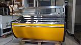 Витрина холодильная Технохолод ПВХС 1,30 м.1,6 м.бу., фото 2