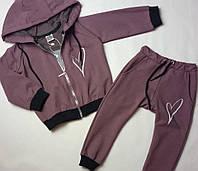 Спортивный костюм для девочки с хлопка ТМ Hart, фото 1