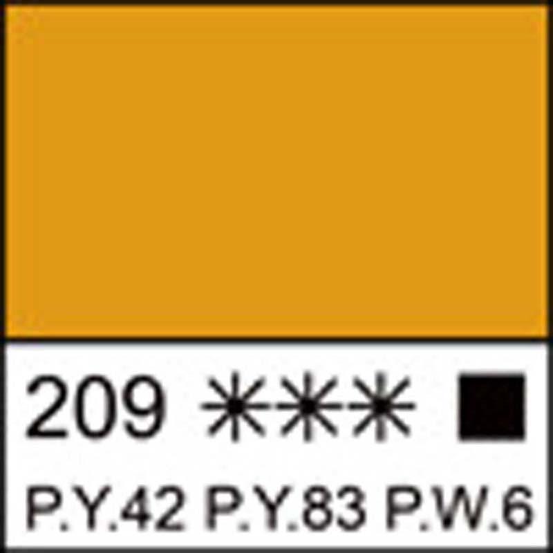 Краска акриловая ЛАДОГА, неаполитанская желтая, 100мл ЗХК