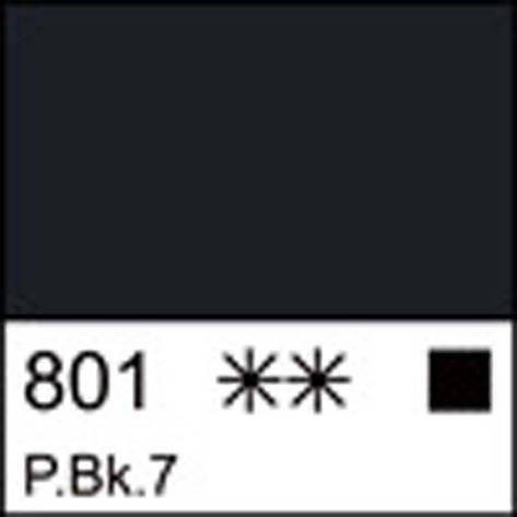 Краска акриловая ЛАДОГА, сажа газовая, 100мл ЗХК                                          , фото 2