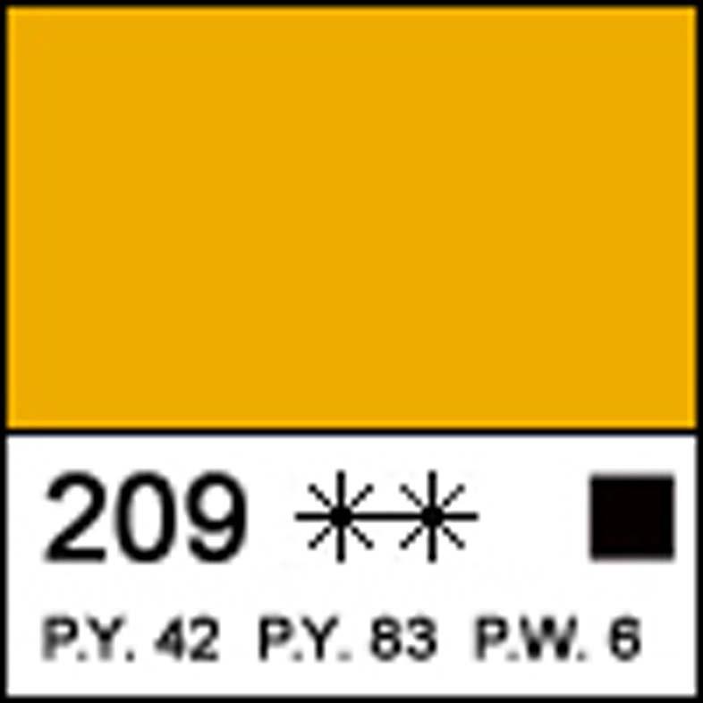 Краска акриловая МАСТЕР-КЛАСС, неаполитанская желтая 46мл ЗХК