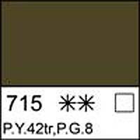 Краска масляная МАСТЕР-КЛАСС араратская зеленая, 46мл ЗХК