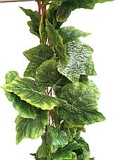 Искусственная лиана.Виноградная лиана с крупными листьями(5 шт в упаковке), фото 3