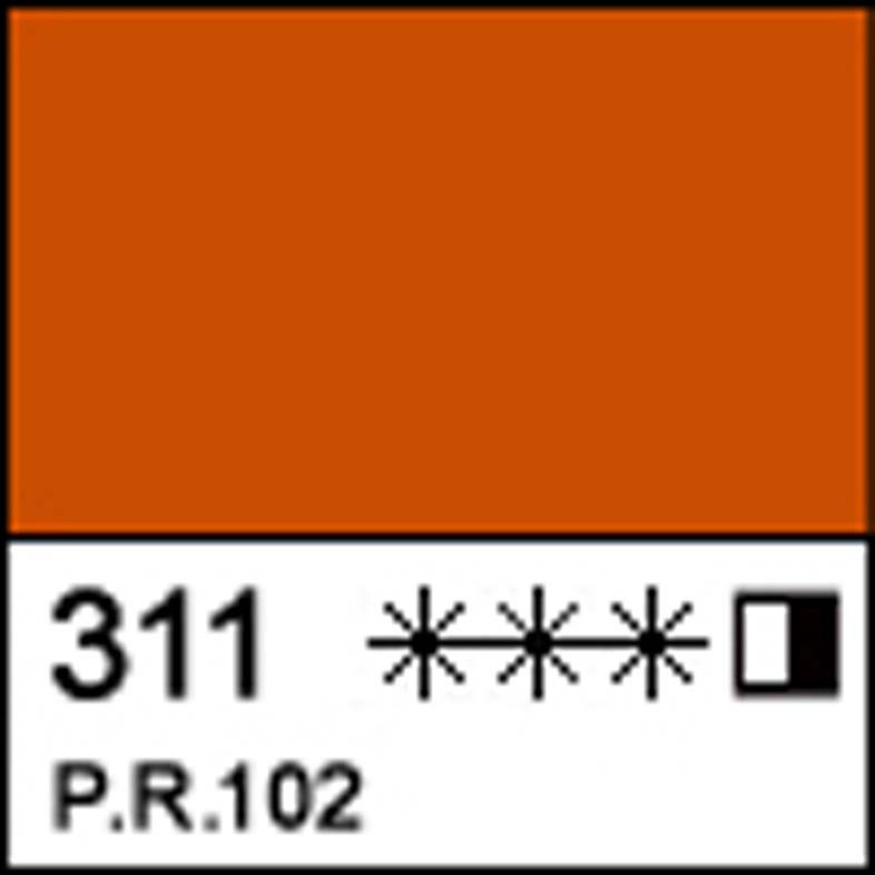 Краска масляная МАСТЕР-КЛАСС шахназарская красная, 46мл ЗХК
