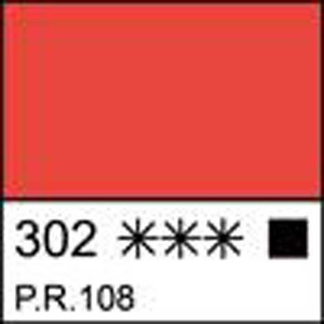 Краска масляная МАСТЕР-КЛАСС кадмий красный светлый, 46мл ЗХК                             , фото 2