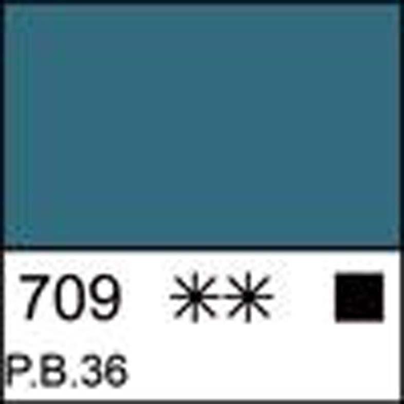 Краска масляная МАСТЕР-КЛАСС хром-кобальт зелёно-голубой, 46мл ЗХК