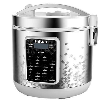 Мультиварка Hilton HMC-532 Silver, 900W, на 5 литров, 32 программ, фото 2