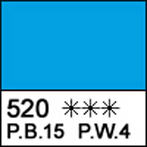 Краска масляная СОНЕТ синяя светлая, 46мл ЗХК                                             , фото 2