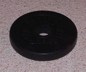 Блин обрезиненный 1,25 кг (30 мм)
