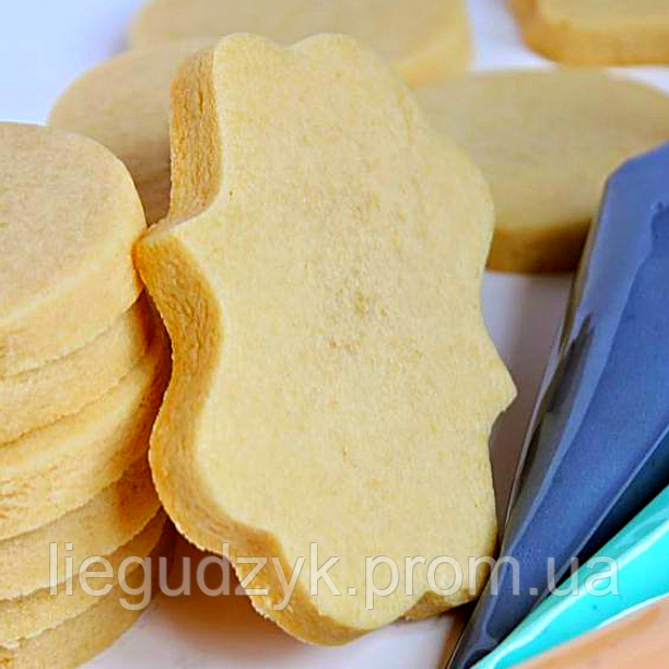 Печиво пісочно-ванільне для брендування  та декорування  [прямокутно-фігурне]