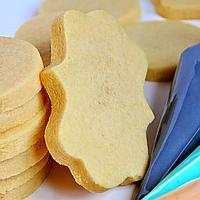 Печиво пісочно-ванільне для брендування  та декорування  [прямокутно-фігурне], фото 1