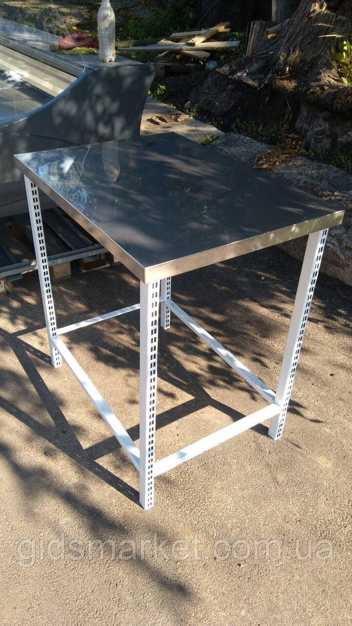 Стол с нержавеющей стали б у, производственный стол нержавейка б/у, нержавеющий стол б у