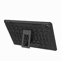 Противоударный двухслойный чехол Shield для Huawei MediaPad M5 8 c подставкой