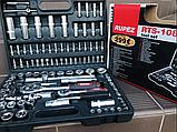 Набор инструментов Rupez RTS-108ед. Набор головок и ключей хром-ванадий, фото 8