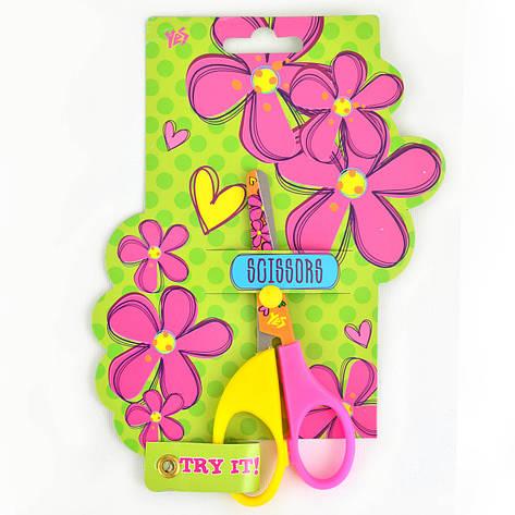 """Ножницы с принтом на лезвии """"Flowers""""                                                     , фото 2"""