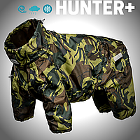 Одежда для собак HUNTER+ . Теплый, водонепроницаемый на подкладке флис. Спинка от 47 см до 80см