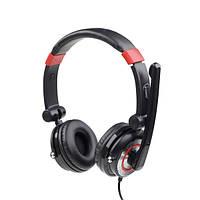 Наушники с микрофоном gembird mhs-5.1-001 usb