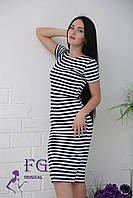 Платье кэжуал Malibu тельняшка, фото 1